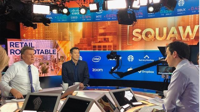 Larry on CNBC Squawk Box